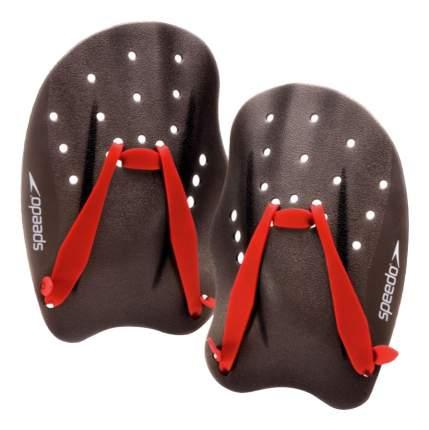 Лопатки для плавания Speedo Tech Paddle 8-733120 черные/красные S