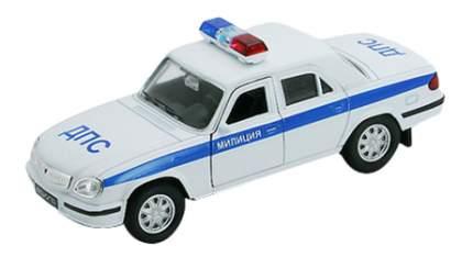 Коллекционная модель Welly Волга Милиция ДПС 1:34