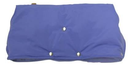 Муфта для рук мамы на детскую коляску Чудо-Чадо Флисовая (кнопки) голубой