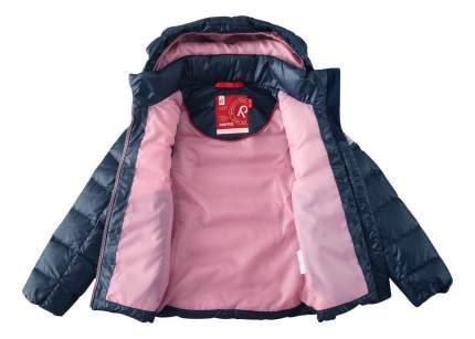 Куртка Reima пуховая 2 в 1 для девочки Minna темно-синяя 152 размер