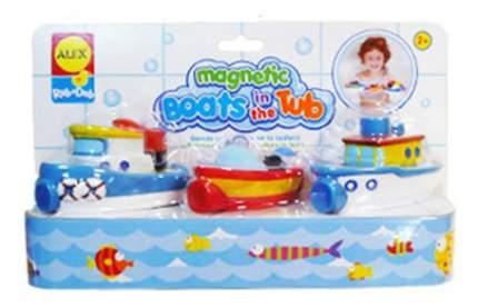 Игрушка для купания ALEX Магнитные лодки