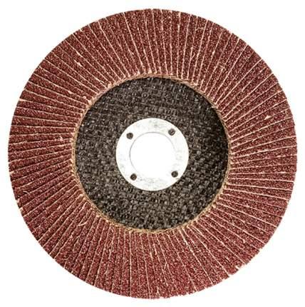 Круг лепестковый шлифовальный для шлифовальных машин MATRIX 74075 P 80, 180 х 22,2 мм