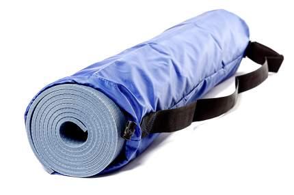 Чехол для йога-коврика RamaYoga Симпл с карманом 508104 60 см синий