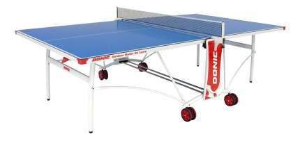 Теннисный стол Donic Outdoor Roller DeLuxe синий, с сеткой