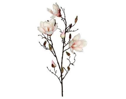 Веточка Цветущая Магнолия 88 см нежно-розовая 1005581
