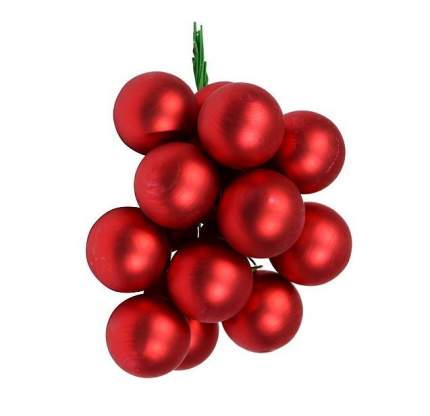 Гроздь шаров на ель Kaemingk 710567 2,5 см