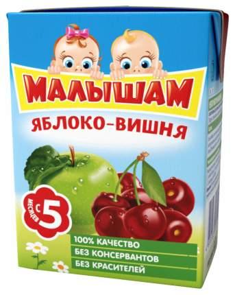 Нектар Малышам Яблоко и вишня с 5 мес 200 мл