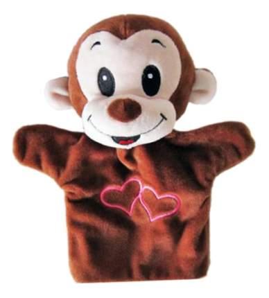 Мягкая игрушка Shantou Gepai на руку обезьянка с сердечком 23 см stw305a-mnk
