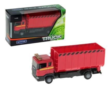 Спецтехника Autotime Scania Lorry Стройконтейнер 1:48