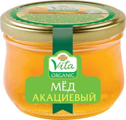 Мед акациевый Глобус Вита оrganic 270 г