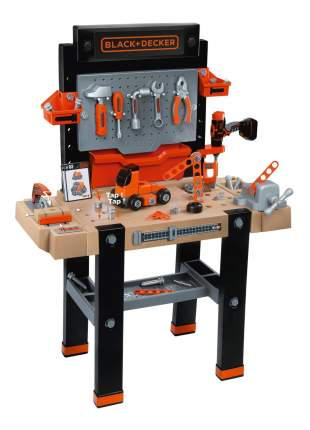 Набор игрушечных инструментов Smoby Black&Decker