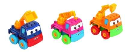 Набор из трех мультяшных машинок Construction Truck Gratwest В61657