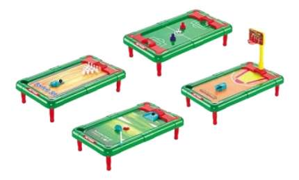 Игры для всей семьи 4 в 1 Чемпионы Рыжий кот ин-7075