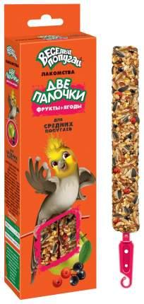 Лакомство для птиц Зоомир Веселый попугай, 2шт, 0.07кг