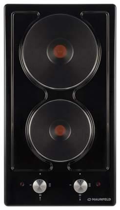 Встраиваемая варочная панель электрическая MAUNFELD EEHE.32.4B Black