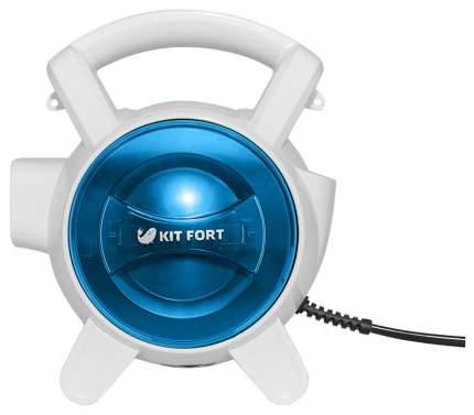 Вертикальный пылесос Kitfort  KT-526-1 White/Blue