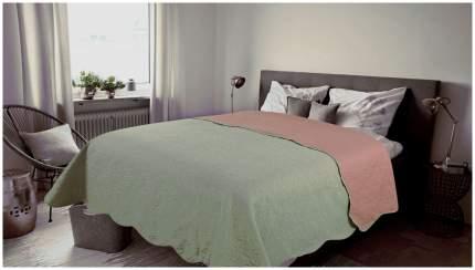 Покрывало Amore Mio Alba Евро Серое/Розовое