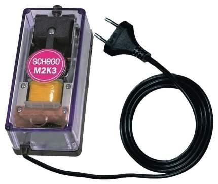 Компрессор для аквариума Schego M2K3 двуканальный, 350 л/час
