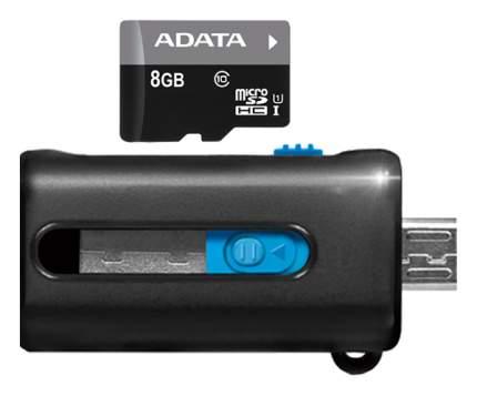 Карта памяти ADATA Micro SDHC AUSDH8GUICL10-ROTGMBK 8GB