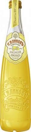 Лимонад Калиновъ классическій лимонадъ стекло 0.5 л