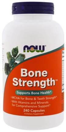 Комплексное средство для суставов и связок NOW Bone Strength 240 капс.