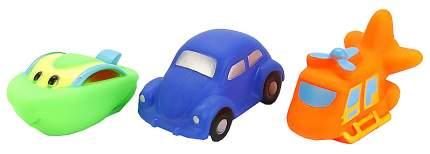 """Набор игрушек для ванны Играем вместе """"Вертолет, машина, катер"""""""