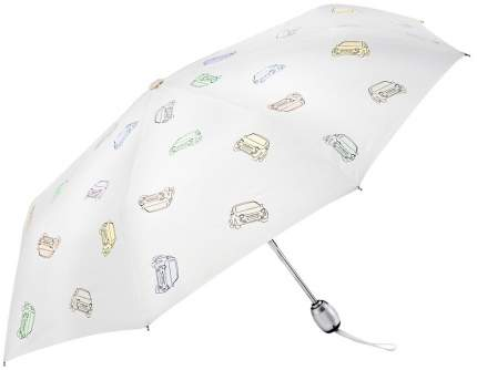Складной зонт Fiat 50907183 white