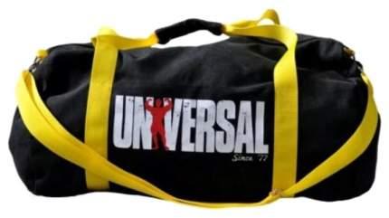 Спортивная сумка Universal Nutrition Vintage Gym Bag желтая