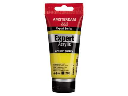 Акриловая краска Royal Talens Amsterdam Expert №208 кадмий желтый светлый 75 мл