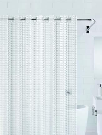 Штора для ванны 3D (прозрачный) 180*200