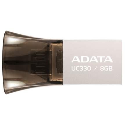 USB-флешка ADATA UC330 8GB Silver (AUC330-8G-RBK)