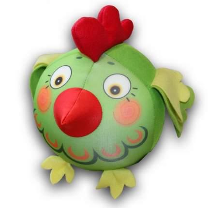 Игрушка-антистресс СПИ Петух-колобок зеленый