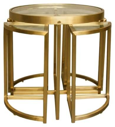 Кофейный столик ROOMERS 55х60х60 см, золотистый