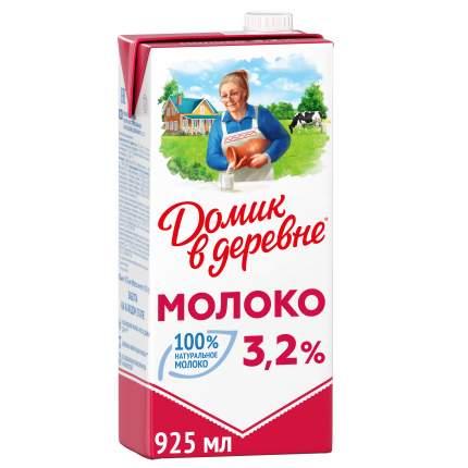 Молоко Домик в деревне  ультрапастеризованное 3.2% 950 г