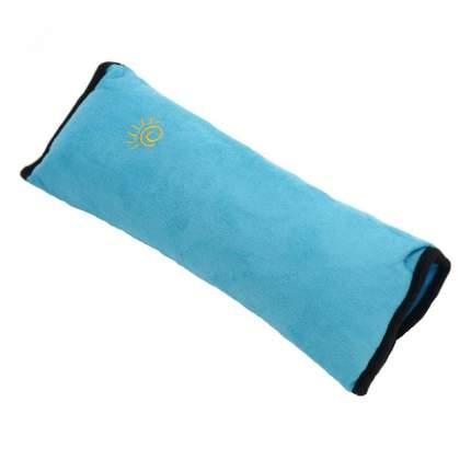 Подушка-накладка на ремень безопасности для детей Happy Mom голубая