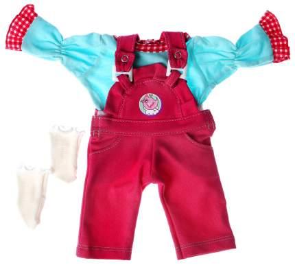 Одежда для кукол и пупсов 38 - 42 см «Комбинезон с рубашкой и носочками» Colibri