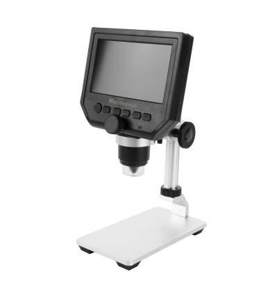 Портативный цифровой USB-микроскоп 2emarket 600х с монитором
