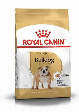Сухой корм для собак ROYAL CANIN Bulldog Adult, птица, свинина, 12кг