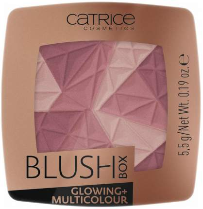 Румяна CATRICE Blush Box Glowing + Multicolour 020 It´s Wine O´clock