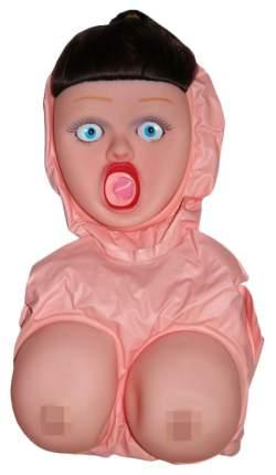 Надувная секс-кукла Eroticon Брюнетка с большой грудью