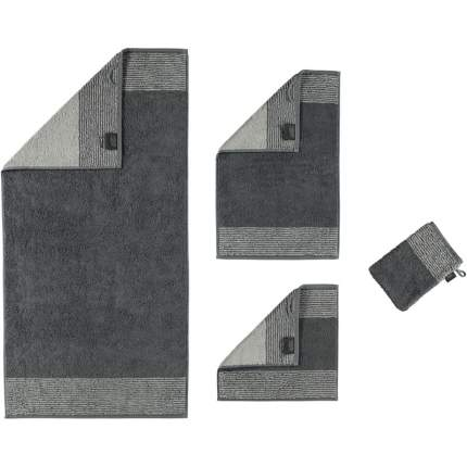 Полотенце CAWO TWO-TONE 50x100см, цвет антрацит