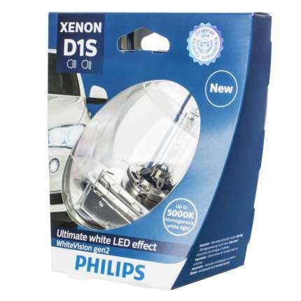Ксеноновые лампы Philips D1S WhiteVision Gen2 (+120%) - 85415WHV2