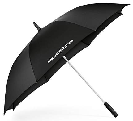 Зонт Quattro, Черный, Audi Quattro VAG арт. 3121600100