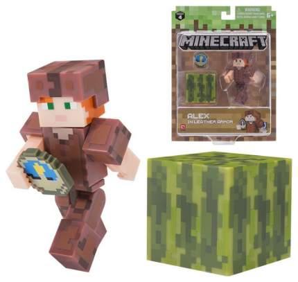 Фигурка Minecraft Alex in Leather Armor 19975