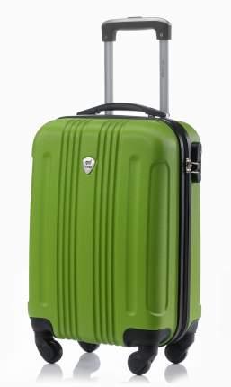 Чемодан со съемными колесами L'Case Bangkok-18 зеленый ручная кладь S