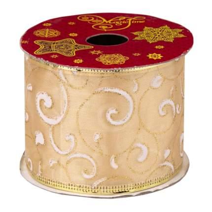 Лента декоративная Феникс Present Охра 6,3x270 см