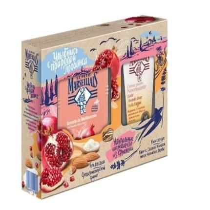 Подарочный набор Le Petit Marseillais Гель для душа 250 мл+крем для рук 75 мл