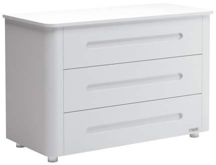 Тумба Micuna Babysitter (Микуна Бэбиситтер) СО-1851 white/aluminium