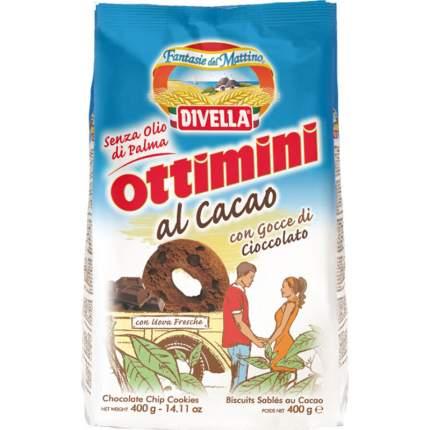 Печенье Divella оттимини шоколадное 400 г