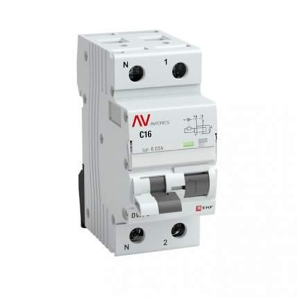 Дифавтоматы EKF rcbo6-1pn-3C-30-a-av